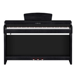 Yamaha CLP-725B Clavinova Digital Piano with Bench – Black