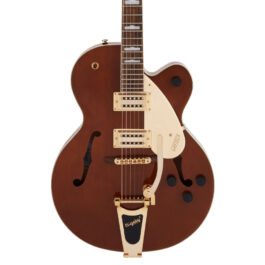 Gretsch G2410TG Streamliner Hollow Body Single-Cut Electric Guitar with Bigsby and Gold Hardware – Single Barrel