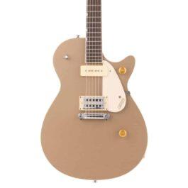 Gretsch G2215-P90 Streamliner Junior Jet Club Electric Guitar – Sahara Metallic