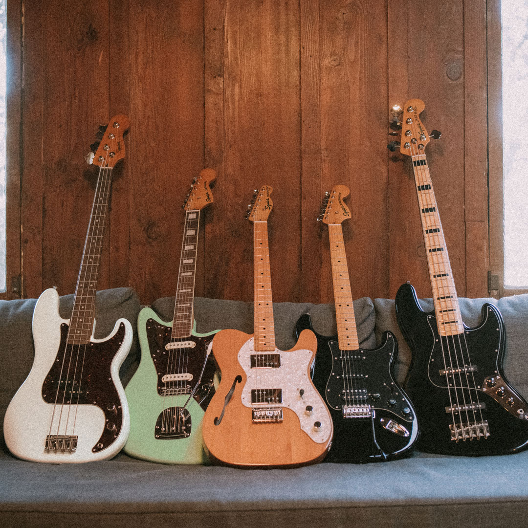 Back to the Past – The Squier Classic Vibe Series
