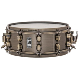 Mapex Black Panther Brass Cat – 14 x 5.5″ Brushed Brass Snare Drum