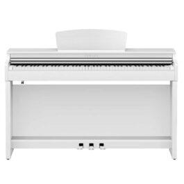 Yamaha CLP-725WH Clavinova Digital Piano with Bench – White