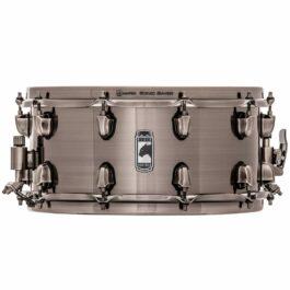 Mapex Black Panther Machete – 14×6.5″ Black Brushed Steel Snare Drum