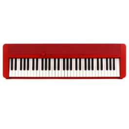 Casio CT-S1 61-key Portable Keyboard – Red