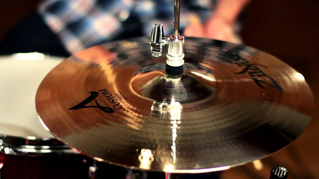 Zildjian's Iconic Brightness with the A Custom Range