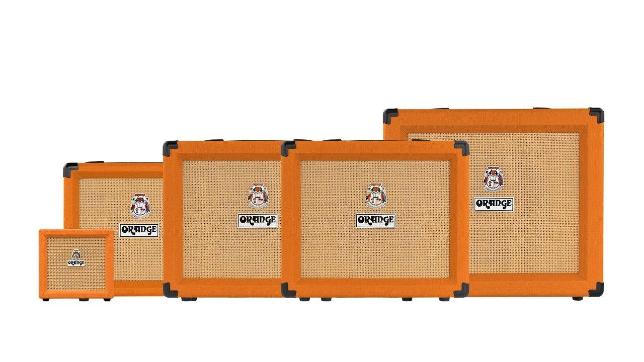 Redefining Solid-State Amps – The Orange Crush Range