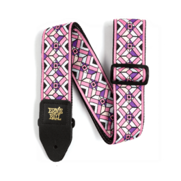 Ernie Ball Kaleidoscope Pink Jacquard Guitar Strap