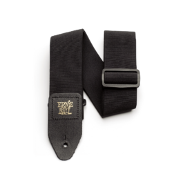 Ernie Ball Comfort Collection – Stretch Comfort Guitar Strap – Black