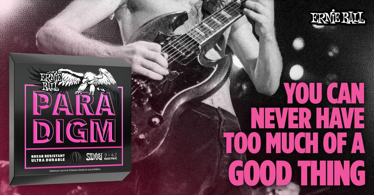 Grab a Free Set of Ernie Ball Paradigm Guitar Strings!