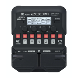 Zoom G1 FOUR Multi-Effects Guitar Processor