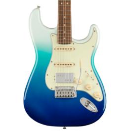 Fender Player PLUS HSS Stratocaster® Electric Guitar – Pau Ferro Fretboard – Belair Blue