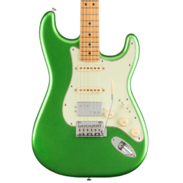 Fender Player PLUS HSS Stratocaster® Electric Guitar – Maple Fretboard – Cosmic Jade