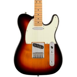 Fender Player PLUS Telecaster® Electric Guitar – Maple Fretboard – 3 Tone Sunburst