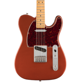 Fender Player PLUS Telecaster® Electric Guitar – Maple Fretboard – Aged Candy Apple Red