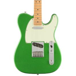 Fender Player PLUS Telecaster® Electric Guitar – Maple Fretboard – Cosmic Jade