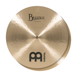 "Meinl Cymbals Byzance Traditional 14"" Medium Hi-hat Cymbals"