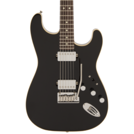 Fender Limited Edition MIJ Modern HH Stratocaster Electric Guitar – Black