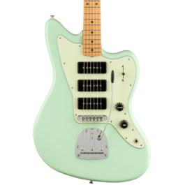 Fender Noventa Series Jazzmaster Electric Guitar – Maple Fretboard – Surf Green